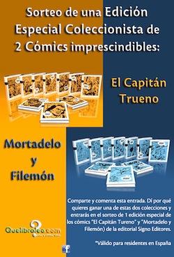 ¿Quieres ganar una Edición Especial Coleccionista de 2 Cómics imprescindibles?