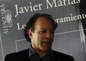 Javier Marías y Manuel Lacarta, Premios de la Crítica de Madrid de novela y poesía