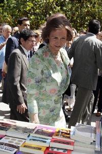 La Reina inaugura en Madrid la 72ª edición de la Feria del Libro