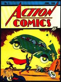 Un libro de cómics de Superman de 1938 se subasta por más de 130.000 euros