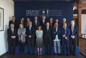 El jurado falla hoy el premio Príncipe de Asturias de las Letras