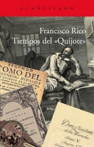 Francisco Rico, Premio de ensayo Caballero Bonald por 'Tiempos del Quijote'