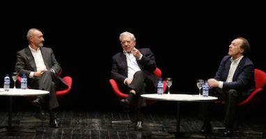 Vargas Llosa, Pérez-Reverte y Marías reviven su pasión por la literatura