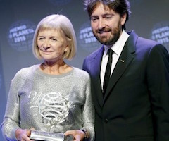 """Alicia Giménez Bartlett gana el Premio Planeta 2015 con """"Hombres desnudos"""""""