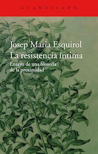 Josep María Esquirol, Premio Nacional de Ensayo 2016