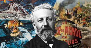 Julio Verne visto por 8 autores muy diversos